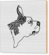 Otto Wood Print