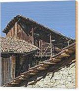 Ottoman Barns Wood Print