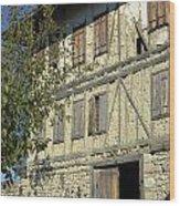 Ottoman Farmhouse Wood Print