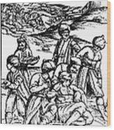 Ottoman Surgery, 1573 Wood Print