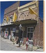 Otts Assay Office And The South Yuba Canal Building Nevada City California Wood Print