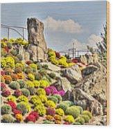 Ott's Greenhouse - Schwenksville - Pa Wood Print