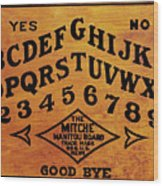 Ouija Board 1 Wood Print