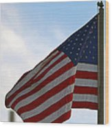 Our Flag Was Still There Wood Print