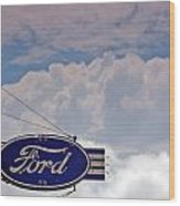 Our Ford  Wood Print