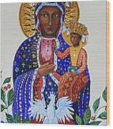 Our Lady Of Czestochowa Wood Print