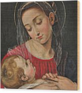 Our Lady Of Divine Providence Wood Print by Terry Sita