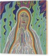 Our Lady Of Fatima 2012 Wood Print