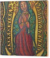 Our Lady Of Glistening Grace Wood Print by Marie Howell Gallery