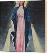 Our Lady Of Grace II Wood Print