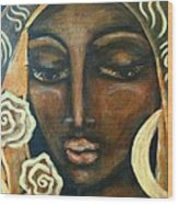Our Lady Of Infinite Possibilities Wood Print