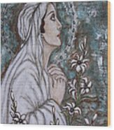 Our Lady Of Mental Peace Wood Print