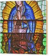 Our Lady Of Peace Wood Print