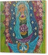 Our Lady Of Rebirth And Renewal Wood Print