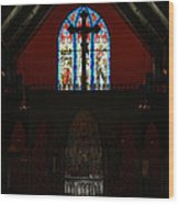 Our Lady Of The Atonement Wood Print