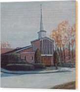 Our Lady Of The Lakeschurch Oakdale Ct Wood Print