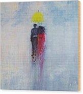 Our Love And A Summer Rain Wood Print