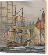 Our Seafaring Heritage Wood Print by James Williamson