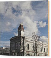 Our Town - Grants Pass In Old Town Wood Print