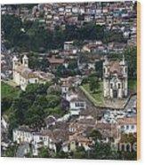Ouro Preto Brazil 1 Wood Print