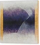 Ouroboros Three Blue, 2010 Wood Print