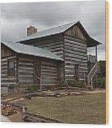 Cavender Creek Vineyards Cabin Wood Print