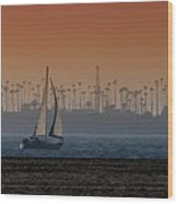 Out For A Sail 2 Wood Print