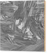 Out Kash Wood Print