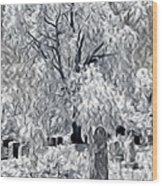 Out-lived Death Wood Print
