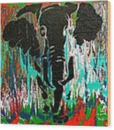 Out Of Africa Wood Print by Nan Bilden