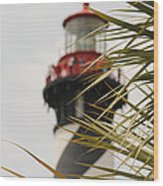 Out Of Focus Lighthouse Wood Print