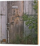 Out Of Service Wood Print