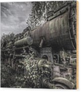Out Of Steam Wood Print