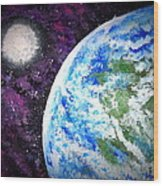 Out Of This World Wood Print by Daniel Nadeau