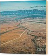 Outback Flinders Ranges Wood Print