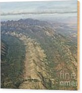 Outback Mountains Wood Print