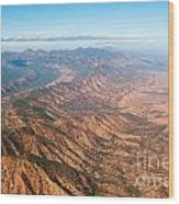 Outback Ranges Wood Print