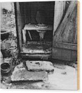 Outdoor Toilet, 1935 Wood Print