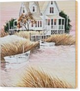 Outer Banks Summer Morning Wood Print