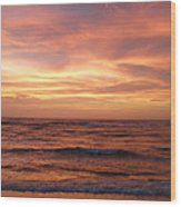 Outer Banks Sunset - Buxton - Hatteras Island Wood Print