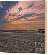 Outer Banks Sunset Wood Print