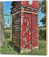 Outhouse 9 Wood Print