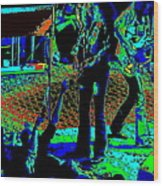 Outlaws #16 Art Psychedelic Wood Print