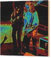 Outlaws #18 Art Cosmic Wood Print