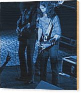 Outlaws #18 Blue Wood Print