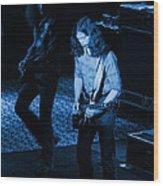 Outlaws #19 Blue Wood Print