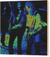 Outlaws #25 Crop 2 Art Psychedelic Wood Print