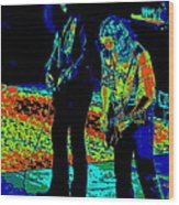 Outlaws #31 Crop 2 Art Psychedelic Wood Print