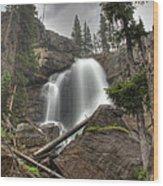 Ouzel Falls Upper View Wood Print