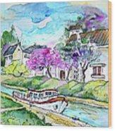 Ouzouer Sur Trezee In France 01 Wood Print